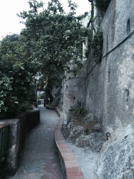 The way up to the Phoenician Steps