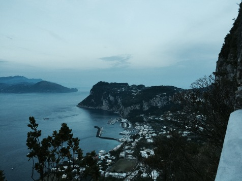 View from Villa San Michele, Anacapril