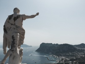 Port of Capri - View from Caesar Augustus